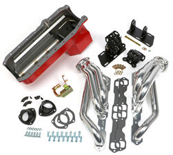 SWAP IN A BOX KIT-86-00 SBC INTO 82-04 2WD S10 ; HTC HEADERS-1 3/4 in. TUBES