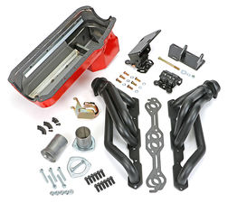 SWAP IN A BOX KIT-55-78 SBC INTO 82-04 4WD S10 ; 1-1/2 in. BLACK MAXX HEADERS
