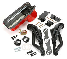 SWAP IN A BOX KIT-55-78 SBC INTO 82-04 2WD S10 ; 1-3/4 in. BLACK MAXX HEADERS