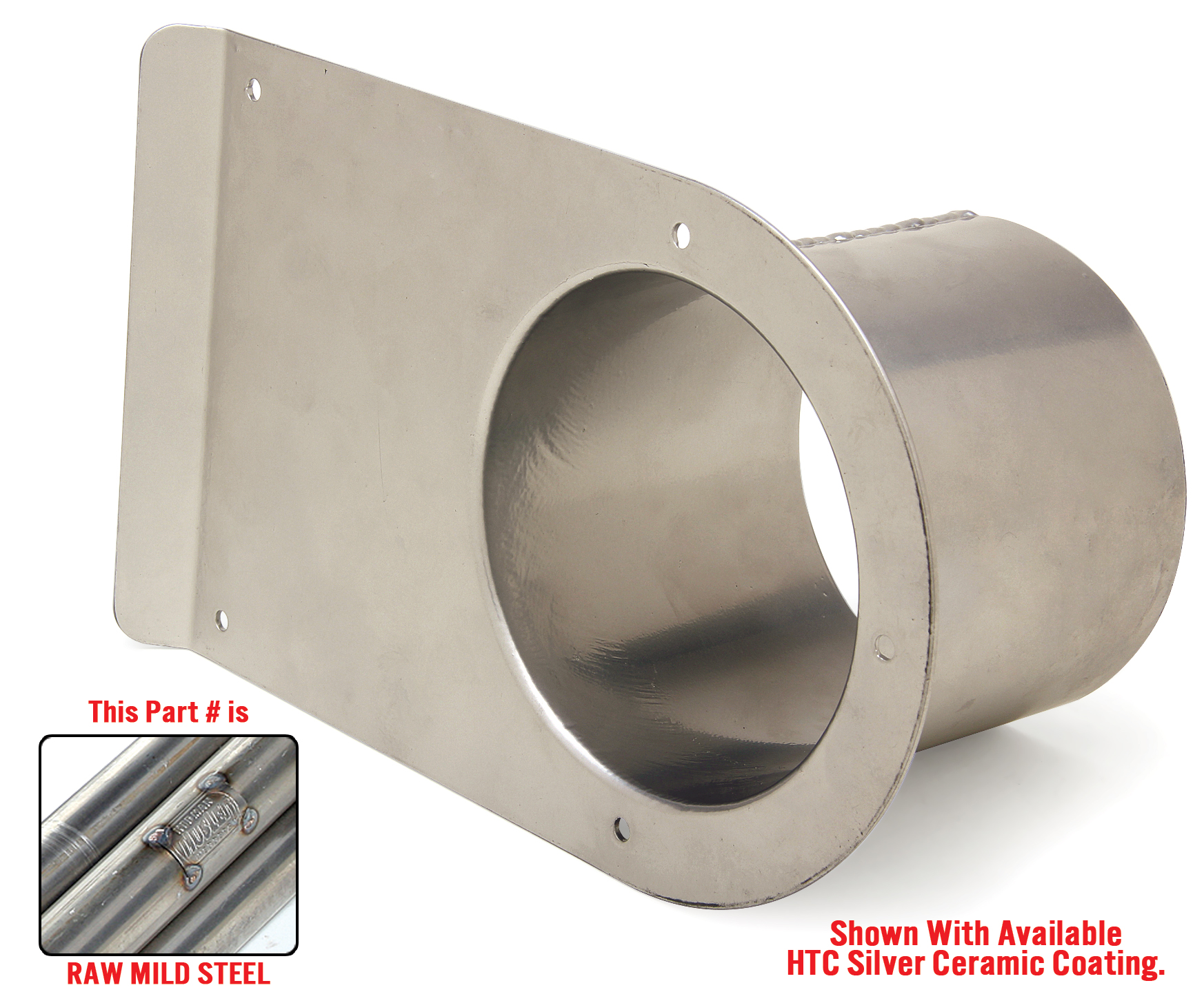 photo of single outlet tailpipe saver