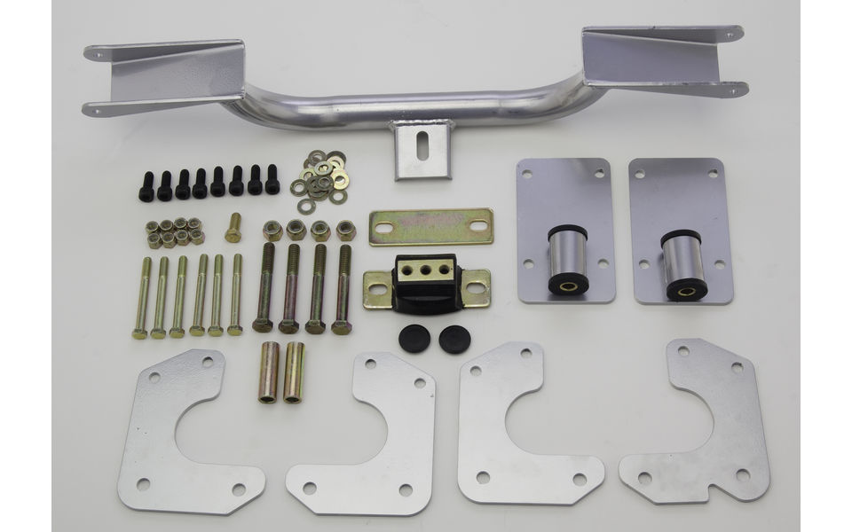 engine and transmission mount kit for LS engine into 1962-67 chevy II and Nova