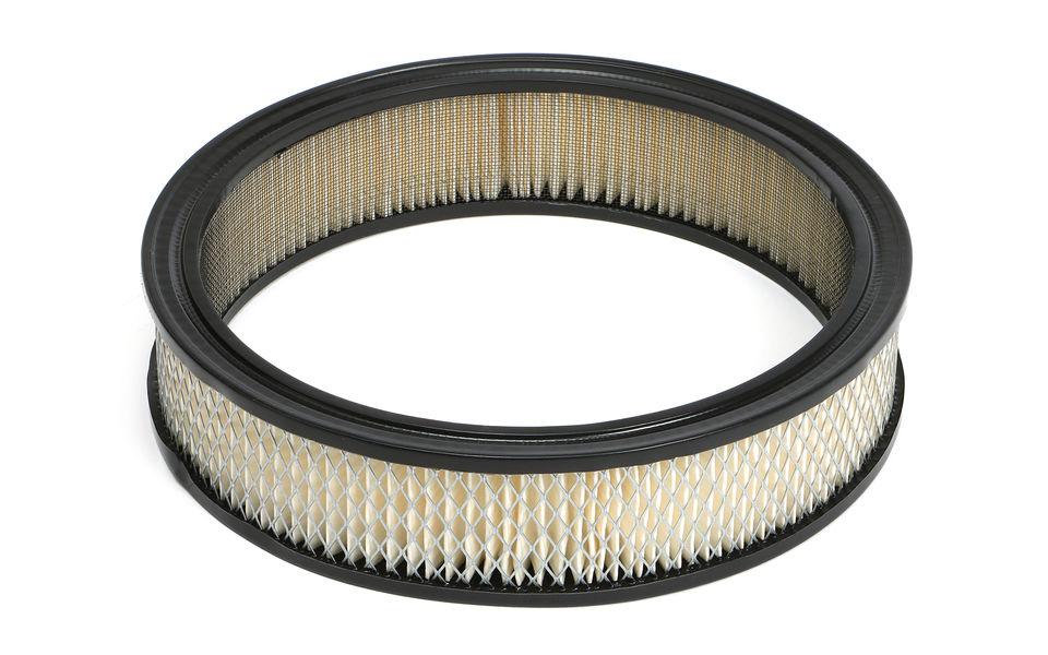 ROUND High Flow Air Filter Element (PAPER) 10