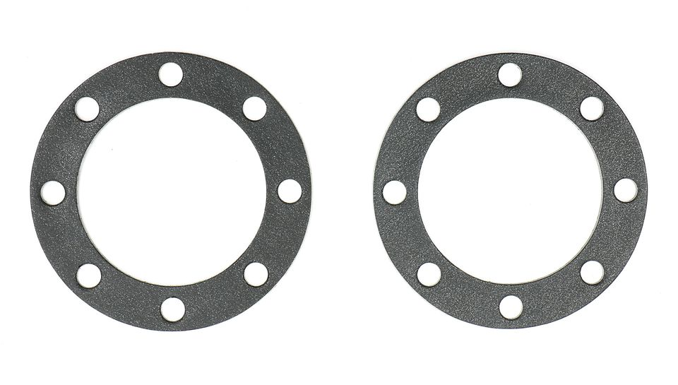 Photo of Hedman Hedders 8-HOLE ROUND TURNOUT GASKETS for Lakester Headers