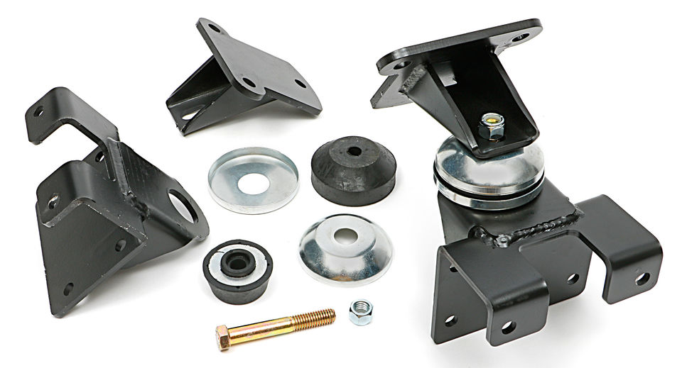 CHEVY V8 (1958 or later) into 1949-54 Chevy Passenger Car- Motor Mount Kit