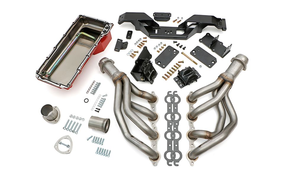 42211- SWAP IN A BOX KIT-LS INTO 67-69 F-BODY & 68-74 X-BODY AUTO TRANS; 304 SS