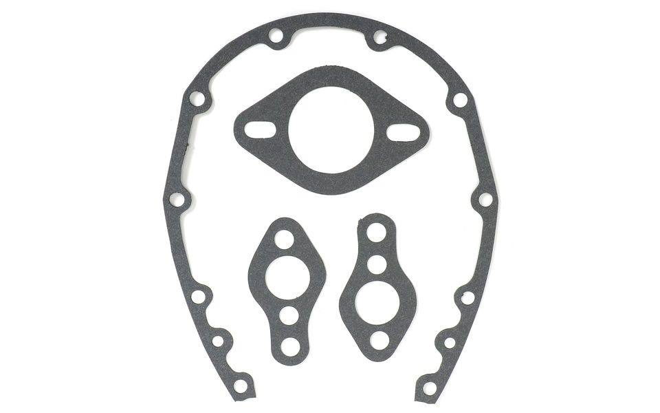 SB Chevy 283-350 Timing cover gaskets (without seal)