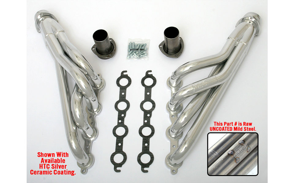 LS into 1978-87 A-Body or 1982-88 G-Body- mid-length engine swap headers- Raw