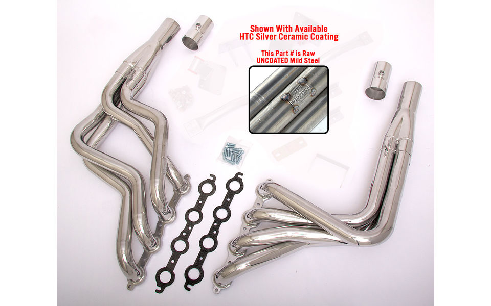 LS into 1978-87 A-Body or 1982-88 G-Body- long tube engine swap headers- Raw