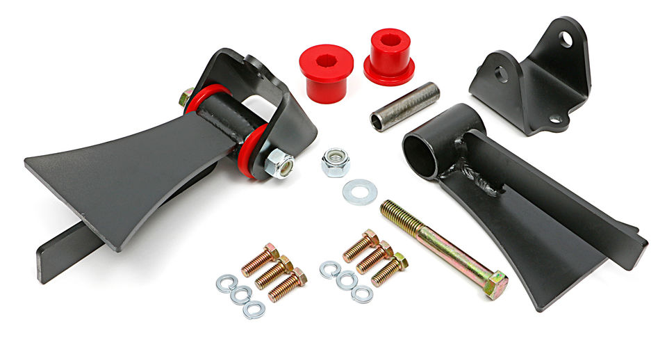 photo of Trans-Dapt # 4511 motor mount kit for LS engines into Street Rods.