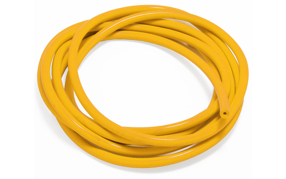 Photo of Yellow Silicone Vacuum Hose