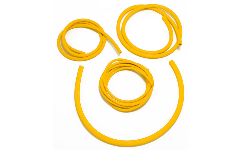 Photo of Yellow Silicone Vacuum hose engine kit