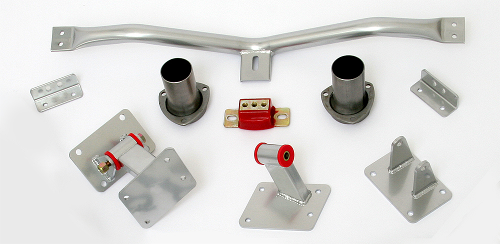 LS engine into 1978-87 GM A-Body- engine and transmission mount kit 4L60E/65E