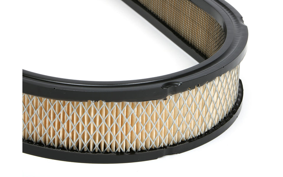 Oval Air Filter Element; 7.88