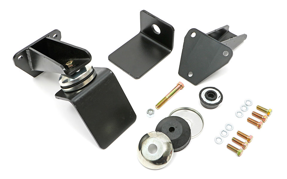 Chevy V8 into Jeep CJ, J and Wrangler engine swap motor mount kit
