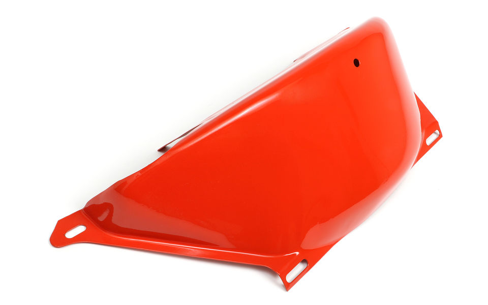 ORANGE POWDER COATED 700R4 FLYWHEEL COVER