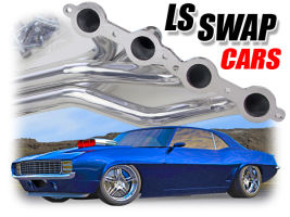 LS Swap Headers for CARS