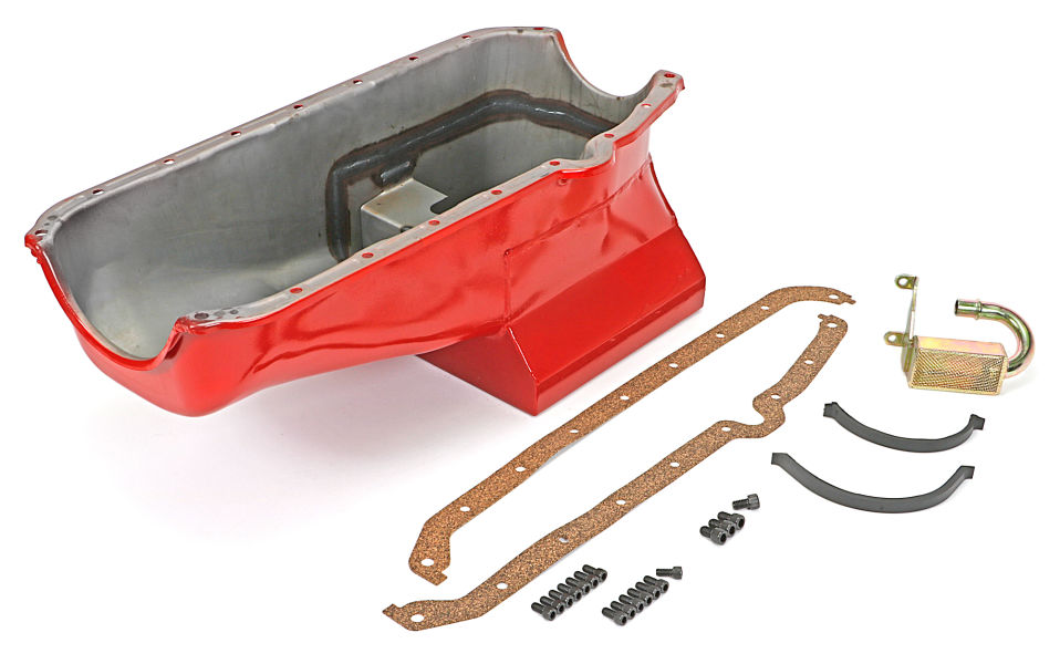 Photo of STREET PERFORMANCE Oil Pan; for 55-78 SB Chevy w/Driver's Side Dipstick