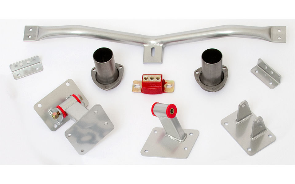 LS engine into 1967-69 Camaro or Firebird- engine and transmission mount kit T56