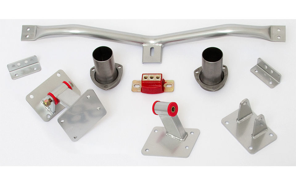 LS engine into 1983-92 GM F-Body- engine and transmission mount kit 4L60E/65E