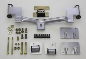 LS CONVERSION MOUNT KIT; 1982-93 F-Body Mustangs with 4L60E/65E Transmission