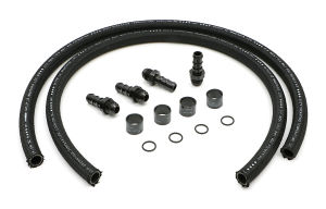 48 in. Premium Oil Lines for Billet Oil Filtration Kits; -12AN Fittings