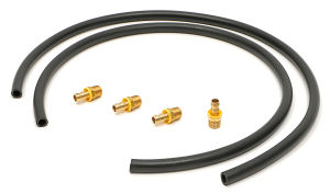 48 in. Oil Filter Relocation Bracket Hose Kit