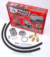 Single Remote Oil Filter System; 2-1/2 in. ID; 2-3/4 in. OD Flange; 3/4 in.-16