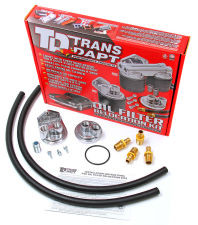 Single Remote Oil Filter System; 2-1/2 in. ID; 2-3/4 in. OD Flange; 13/16 in.-16
