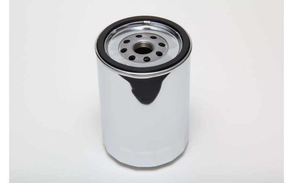 Photo of flange on 1160 chrome oil filter