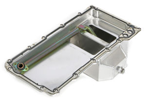 FABRICATED ALUMINUM OIL PAN; GM LS ENGINE