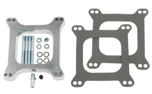 1 in. Tall, HOLLEY/AFB 4BBL 4BBL SPACER -Open- CAST ALUMINUM Carburetor Spacer