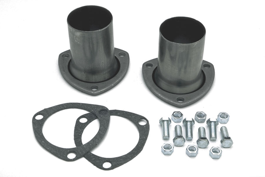 Photo of 3-bolt gasket-style header reducer (adapter)