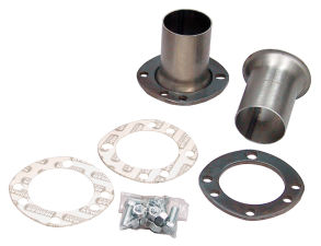 3 in. UNI-FIT Flange Header Reducers; 2-1/2 in. Exhaust; Universal Fit Flange