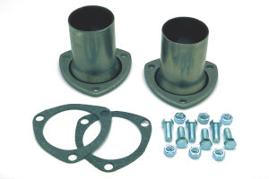 3 in. 3-Bolt Gasket-Style Header Reducers; 2-1/2 in. Exhaust System; Mild Steel