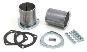 2-1/2 in. 3-Bolt Flange Gasket-Style Header Reducers; 2 in. Exhaust; Aluminized