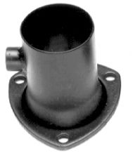 3 in. Ball & Socket Style O2 Header Reducer; 2-1/4 in. Exhaust System-Mild Steel