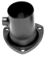 2-1/2 in. Gasket-Style O2 Sensor Header Reducer; 2-1/4 in. Exhaust- Mild Steel