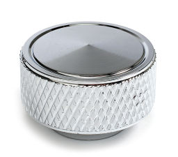 Air Cleaner Wing Nut 1/4 in.-20; Knurled-CHROME