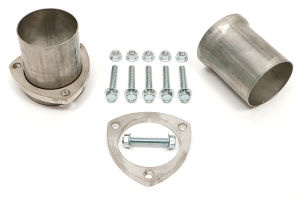 3 in. Ball & Socket Style Header Reducers; 3 in. Exhaust System; Stainless