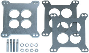 3/8 in. Tall, HOLLEY/AFB 4BBL SPACER -Ported- CAST ALUMINUM Carburetor Spacer