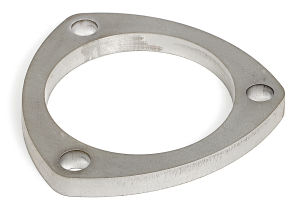 2-1/2 in. Header Collector, 3 Hole Flange Ring (Only); 3/8 in. Thick- Stainless
