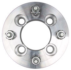 4 LUG Wheel Adapters;4.5 in. WHEEL Dia;100mm HUB Dia;12mmx1.5 (pr)-ALUMINUM