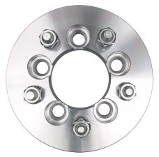5 LUG Wheel Adapters;4.5 in. WHEEL Dia;100mm HUB Dia;12mmx1.5 (pr)-ALUMINUM