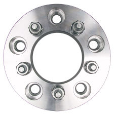 5 LUG Wheel Adapters;4.5 in. WHEEL Dia;135mm HUB Dia;12mmx1.5 (pr)-ALUMINUM