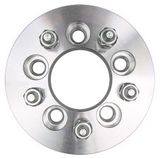 5 LUG Wheel Adapters;4.5 in. WHEEL Dia;4.25 in. HUB Dia;12mmx1.5 (pr)-ALUMINUM