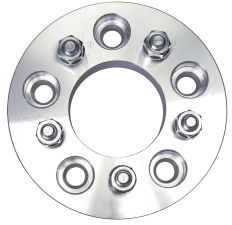 5 LUG Wheel Adapters;4.5 in. WHEEL Dia;5 in. HUB Dia;12mmx1.5 (pr)-ALUMINUM