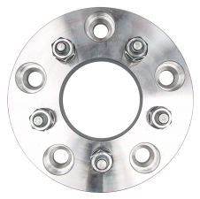 5 LUG Wheel Adapters;4.5 in. WHEEL Dia;5.5 in. HUB Dia;12mmx1.5 (pr)-ALUMINUM