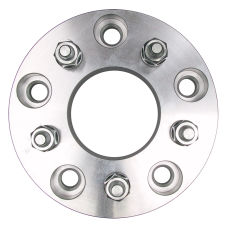 5 LUG Wheel Adapters;4.75 in. WHEEL Dia;5.5 in. HUB Dia;12mmx1.5 (pr)-ALUMINUM