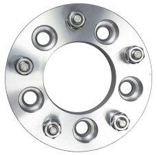 5 LUG Wheel Adapters; 5 in. WHEEL Dia; 135mm HUB Dia; 12mmx1.5 (pr)-ALUMINUM