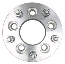 5 LUG Wheel Adapters;135mm WHEEL Dia;4.75 in. HUB Dia;12mmx1.5 (pr)-ALUMINUM
